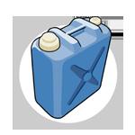 水用のタンク